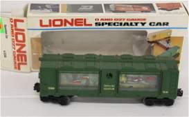 Lionel Specialty Aqurium Car 6-9308 O and 027 gauge