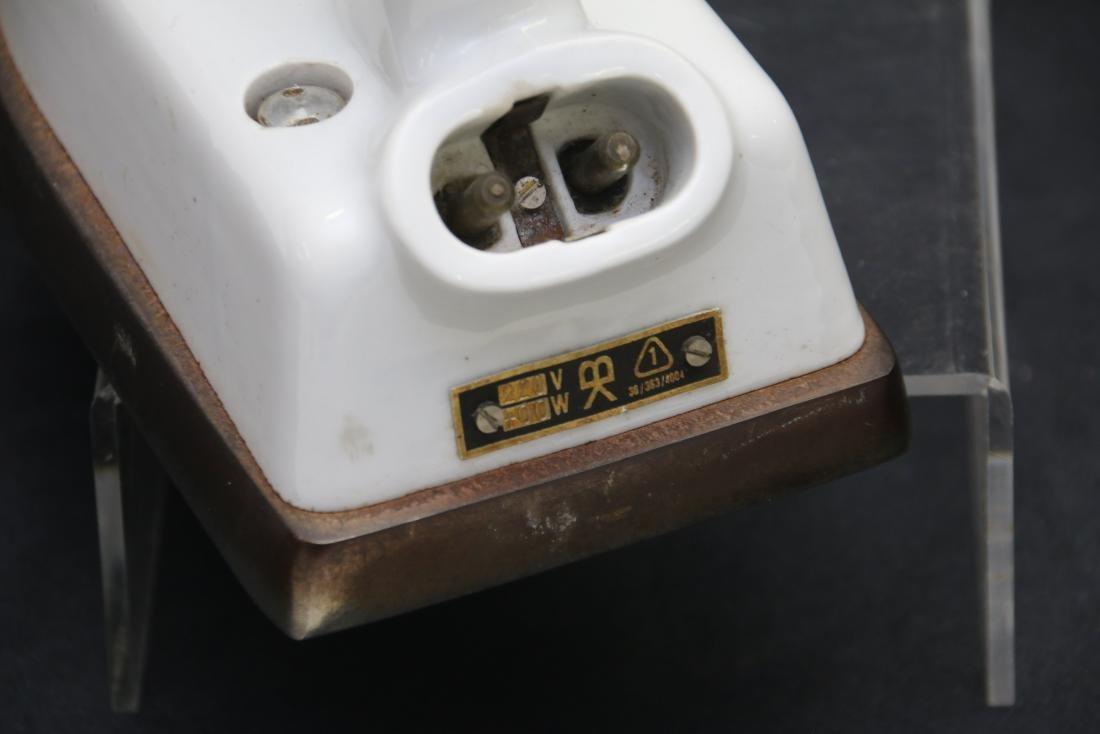 ANTIQUE ELECTRIC IRON - 3