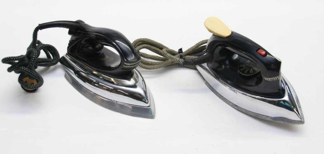 PAIR OF ELECTRIC IRONS - 3