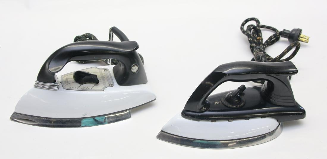 PAIR OF ELECTRIC IRONS - 2