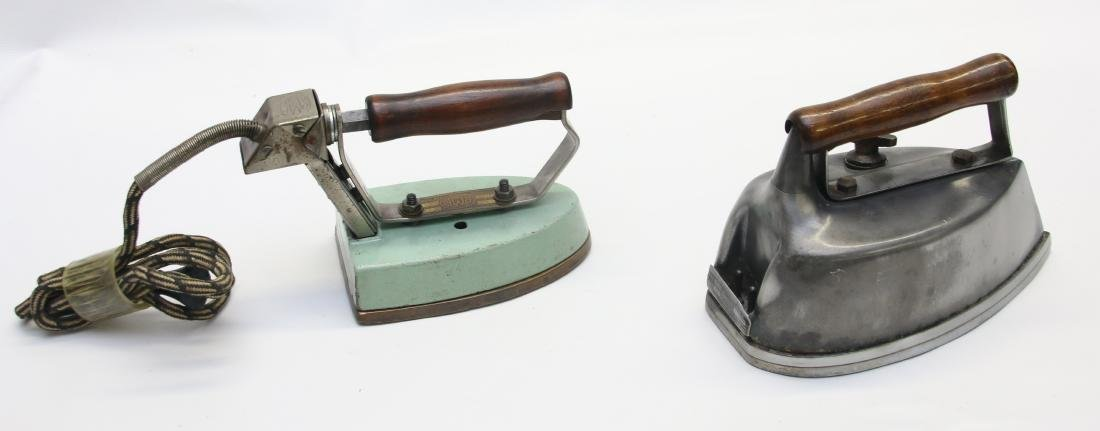 PAIR OF ELECTRIC IRONS