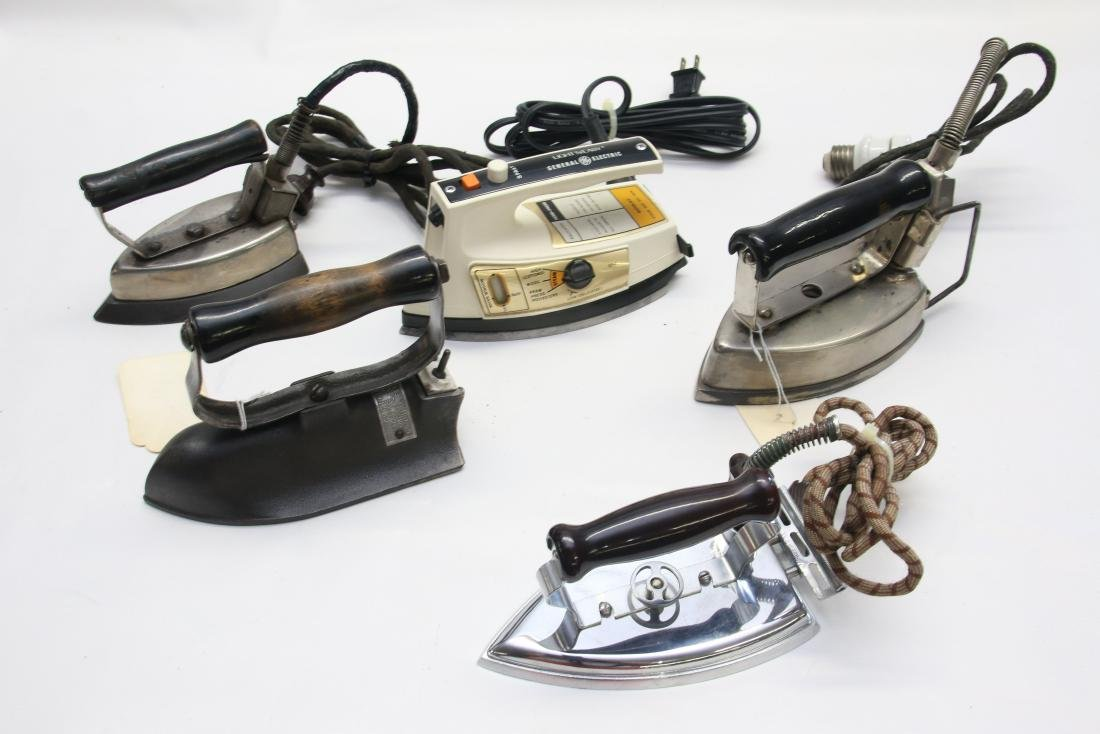 LOT OF ELECTRIC IRONS