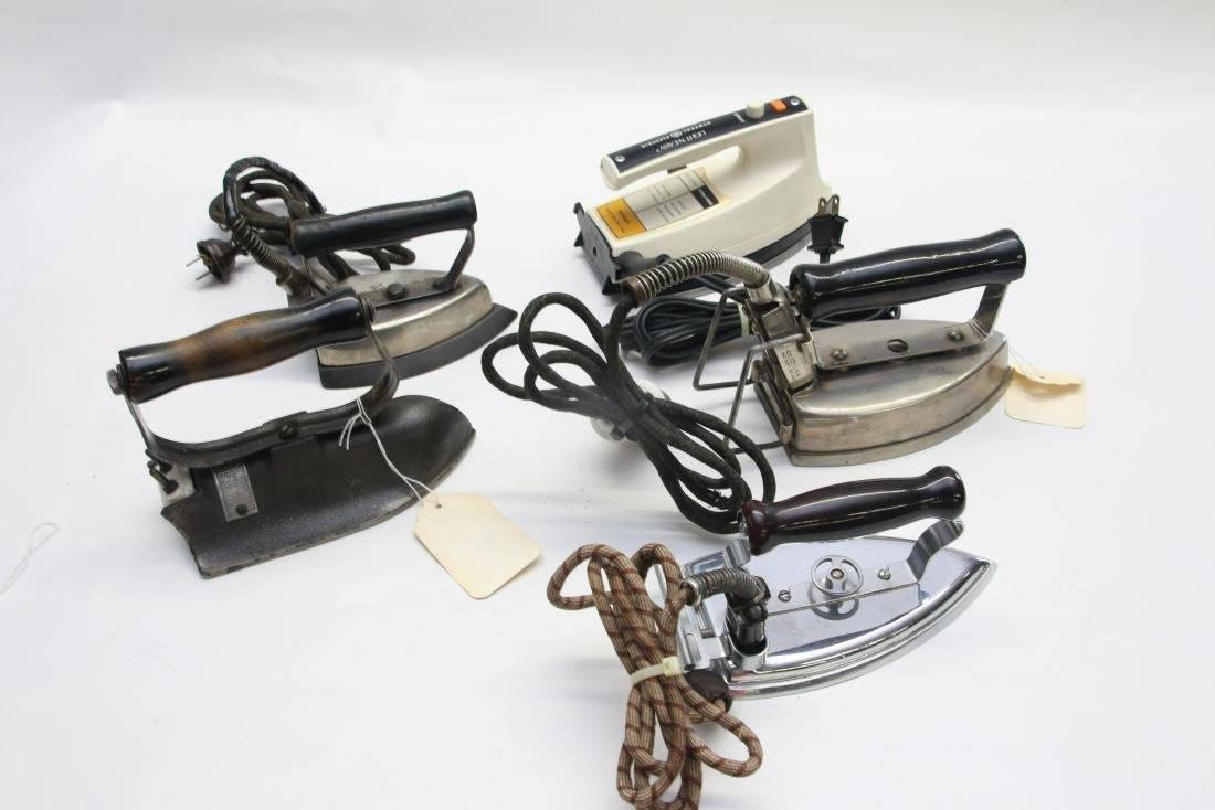 LOT OF ELECTRIC IRONS - 2