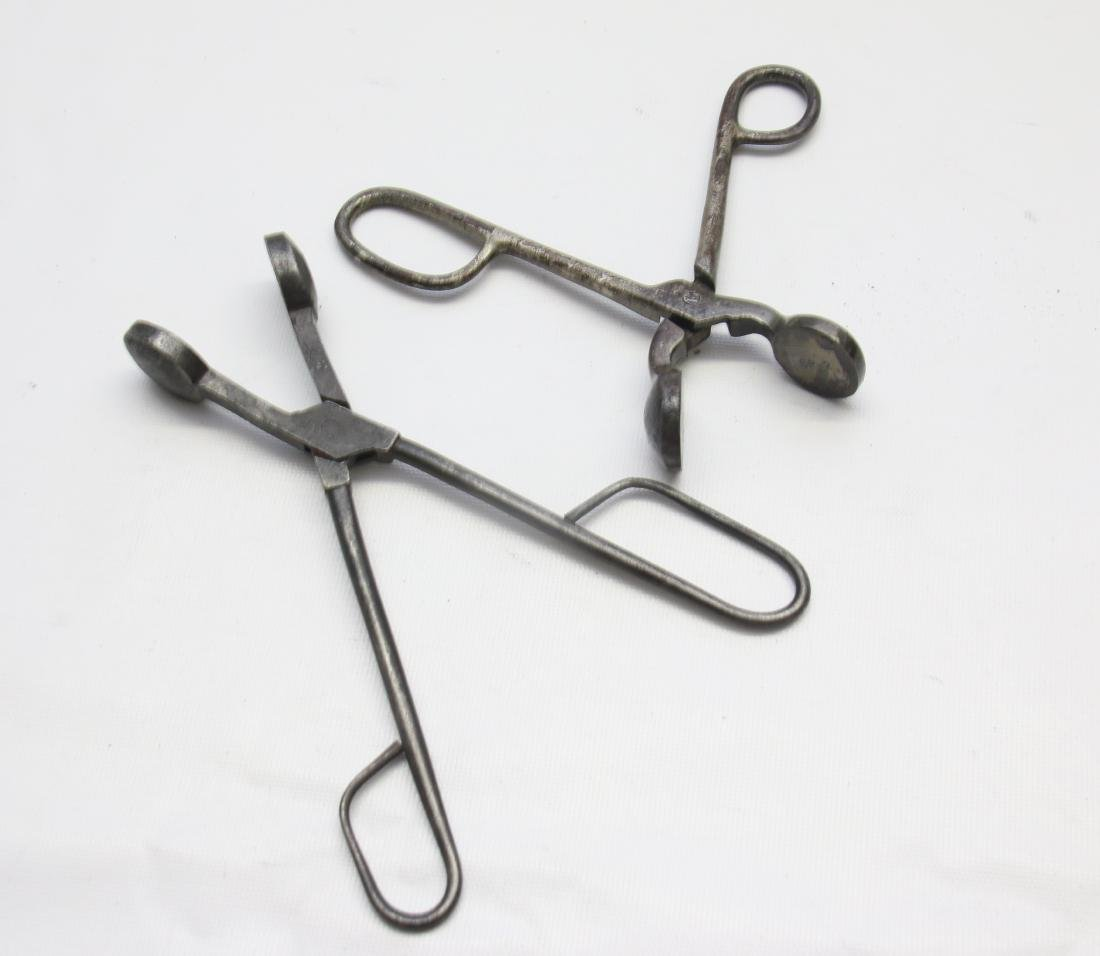 PAIR OF TOUCH-UP TONGS - 2