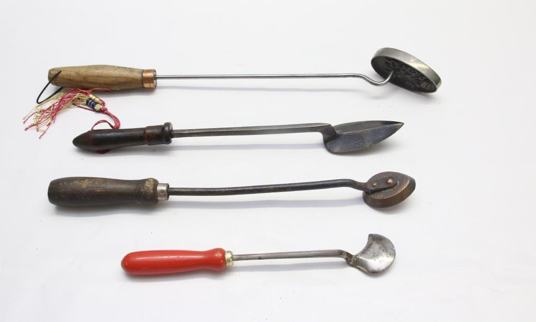 GROUP OF SEAM IRONS