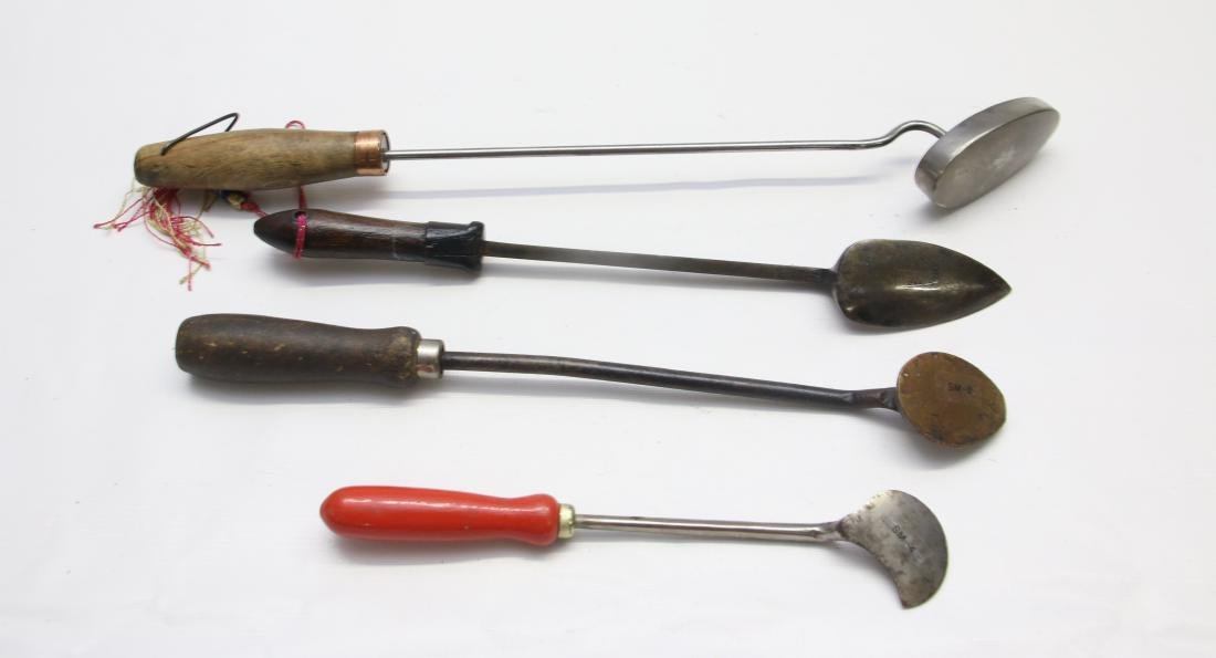 GROUP OF SEAM IRONS - 3