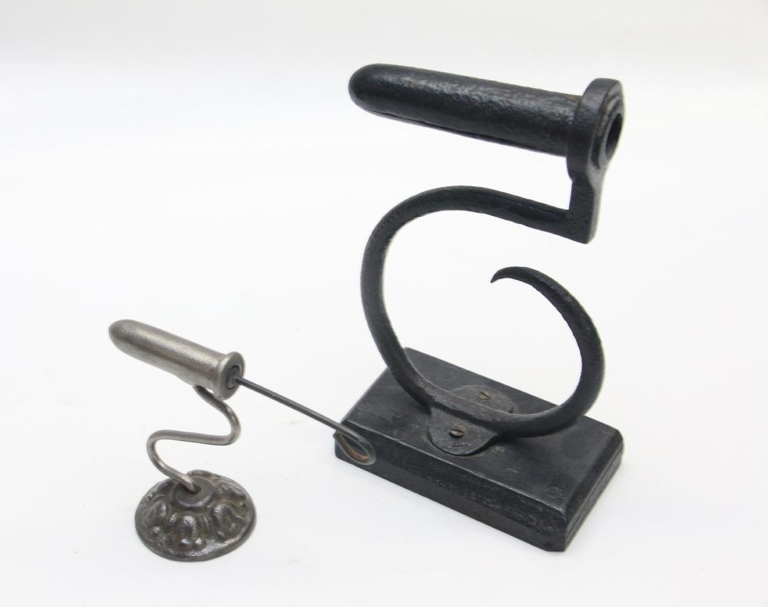 PAIR OF GOFFERING IRONS