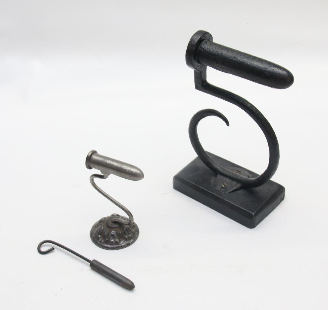 PAIR OF GOFFERING IRONS - 2