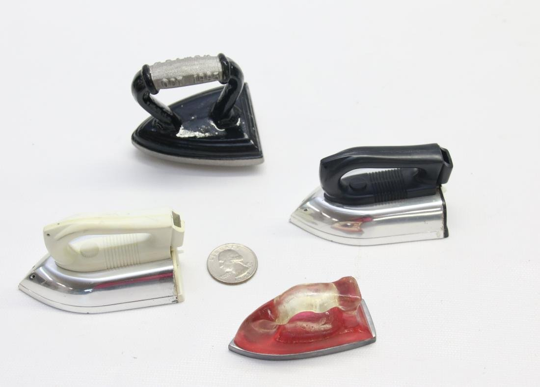 GROUP LOT OF MINIATURE IRONS