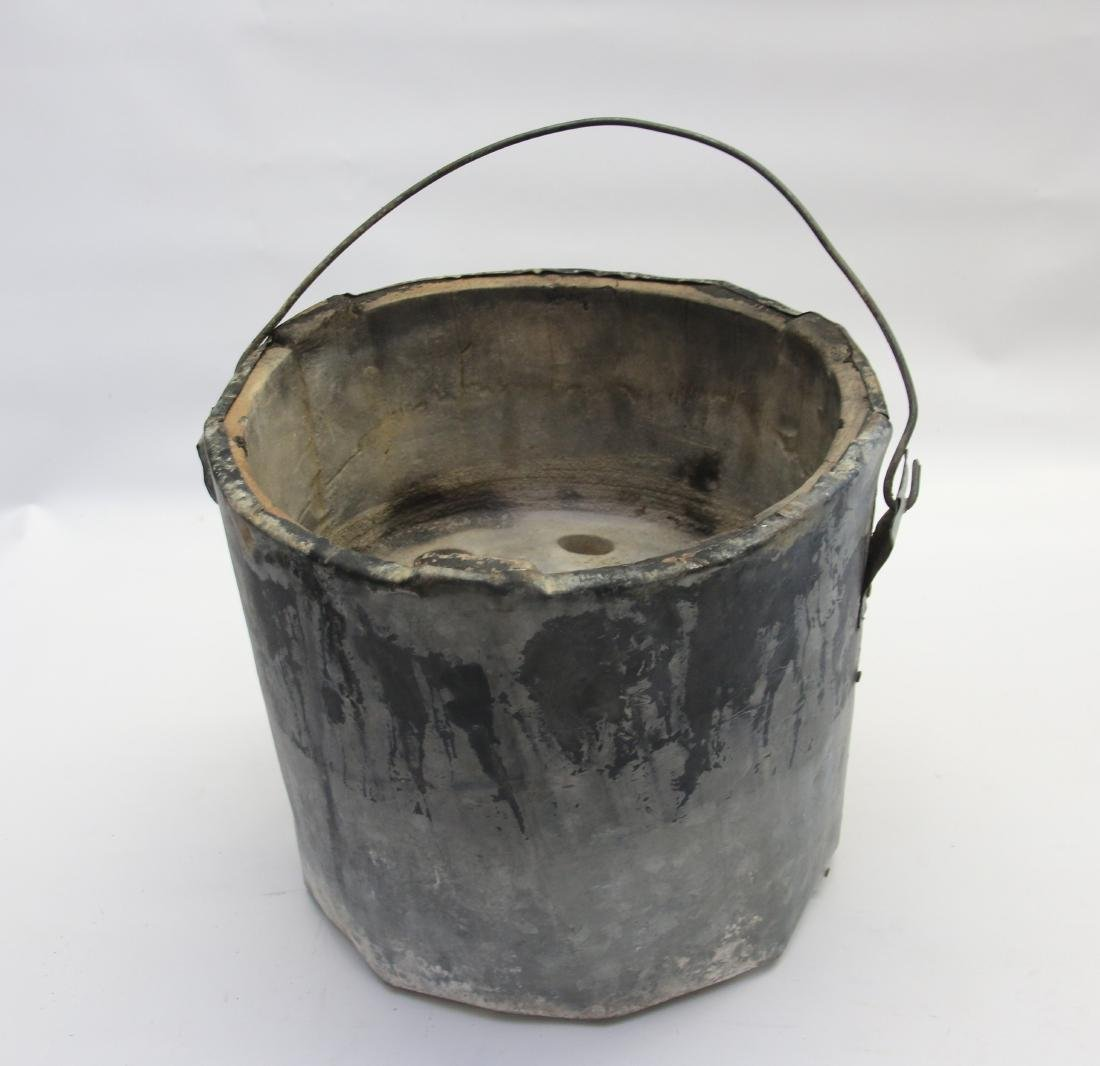 ANTIQUE BUCKET HEATER