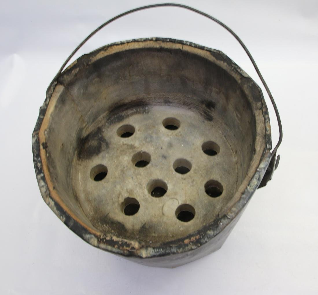 ANTIQUE BUCKET HEATER - 2