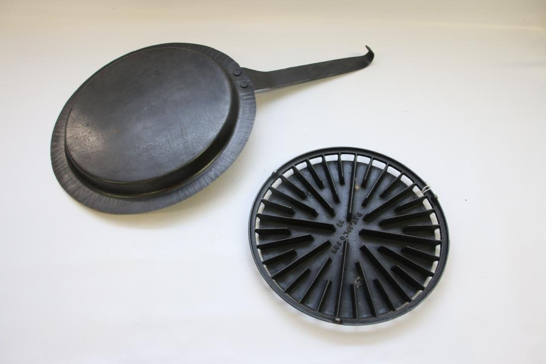 HEATER STOVE IRON WITH PAN - 2