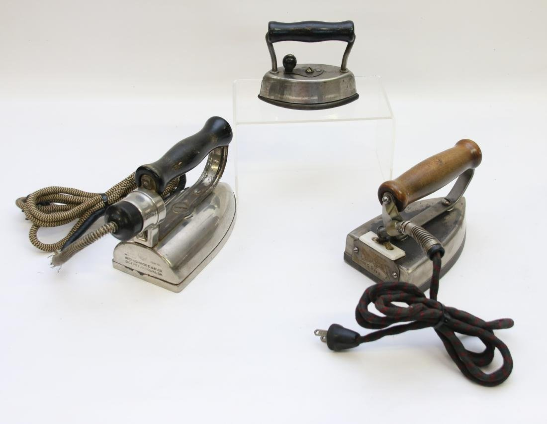 GROUP LOT OF IRONS - 2