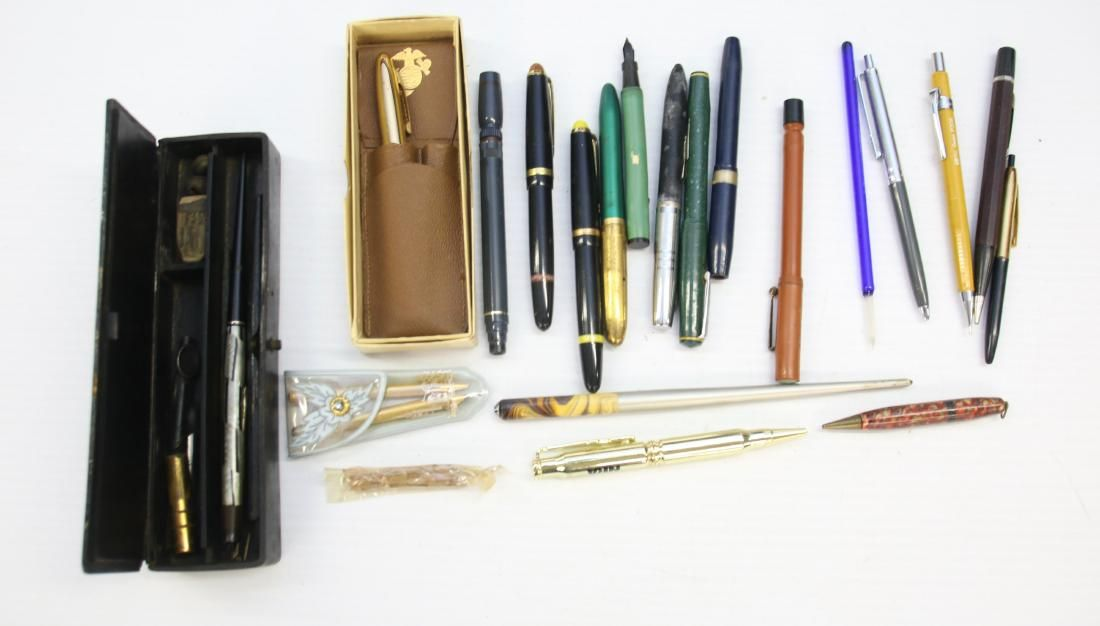 VINTAGE LOT OF FOUNTAIN PENS