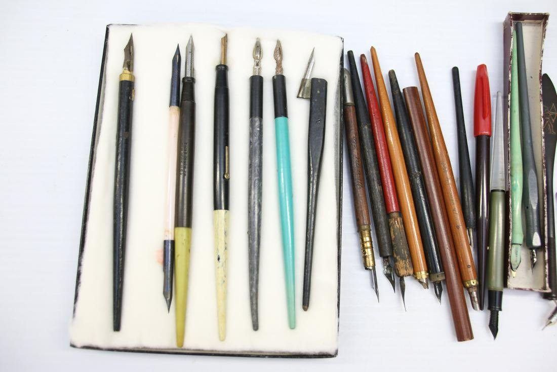 VINTAGE LOT OF FOUNTAIN PENS - 2