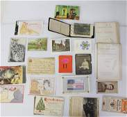 GROUP LOT OF PAPER GOODS