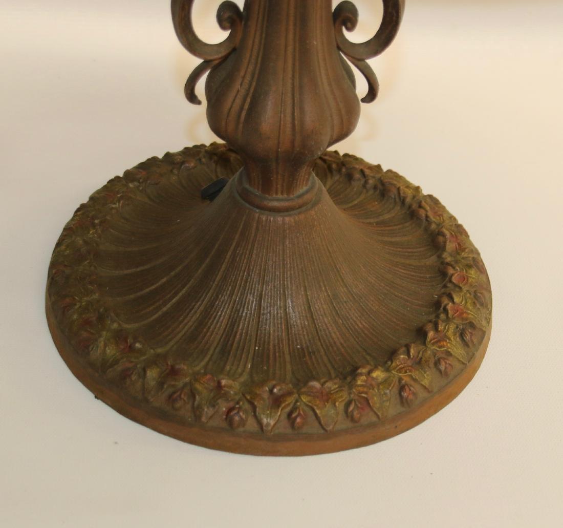 SLAG GLASS TABLE LAMP - 3