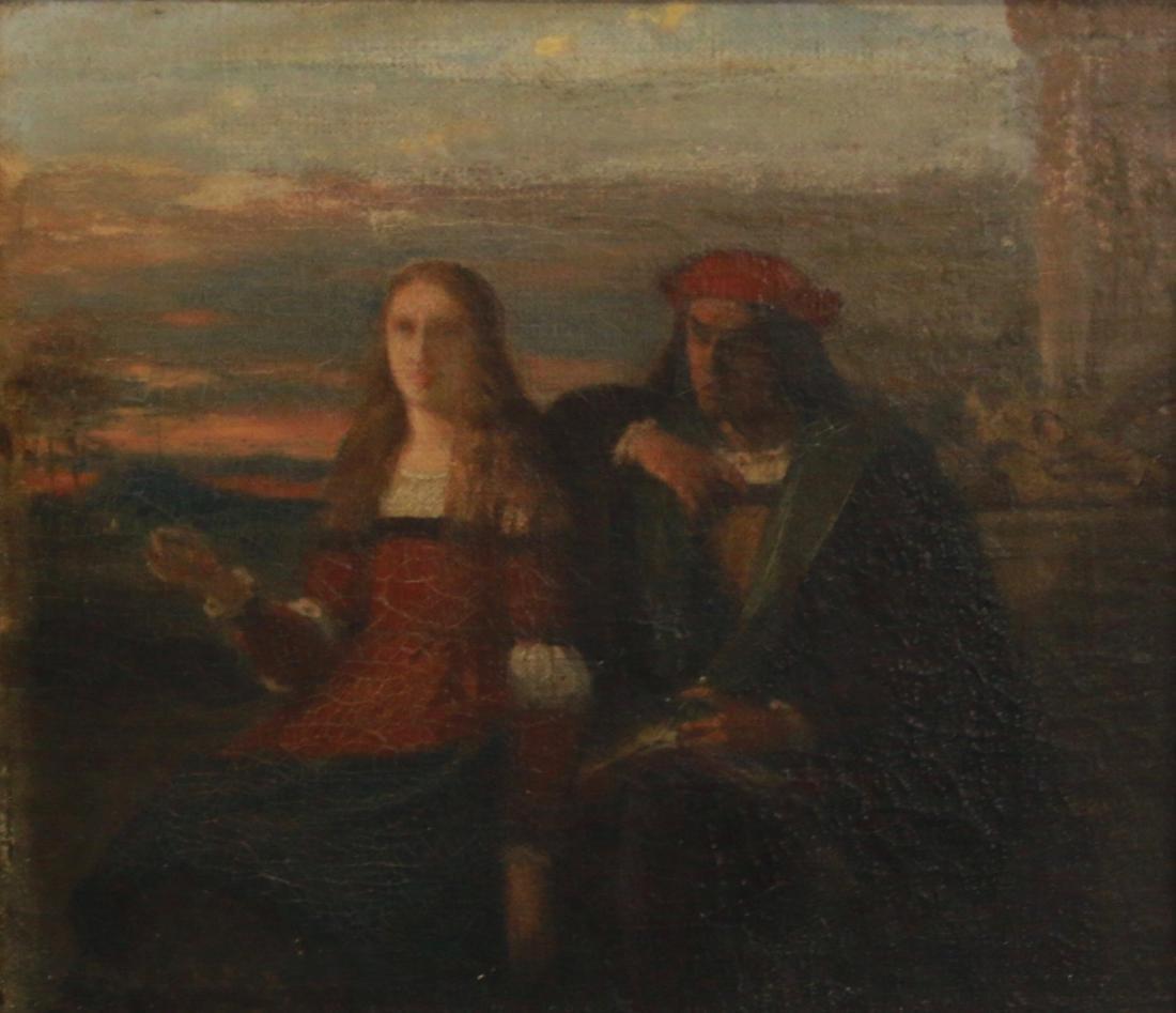 19TH CENTURY OIL ON CANVAS