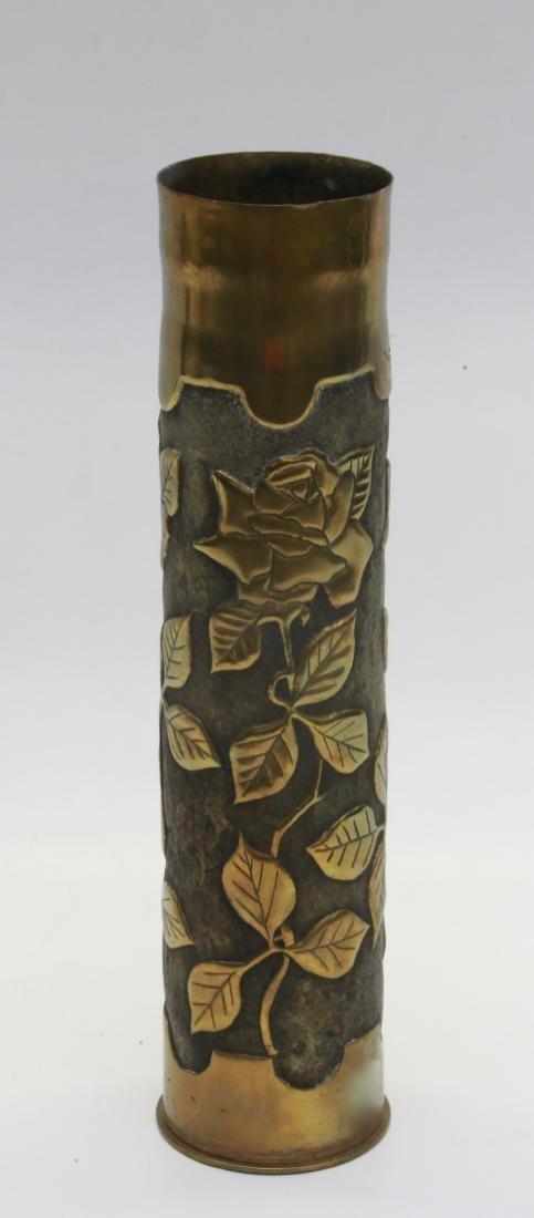 TRENCH ART ARTILLERY SHELL