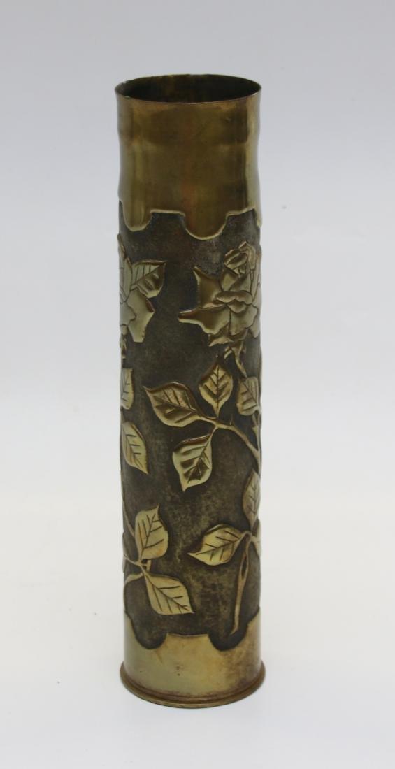 TRENCH ART ARTILLERY SHELL - 2