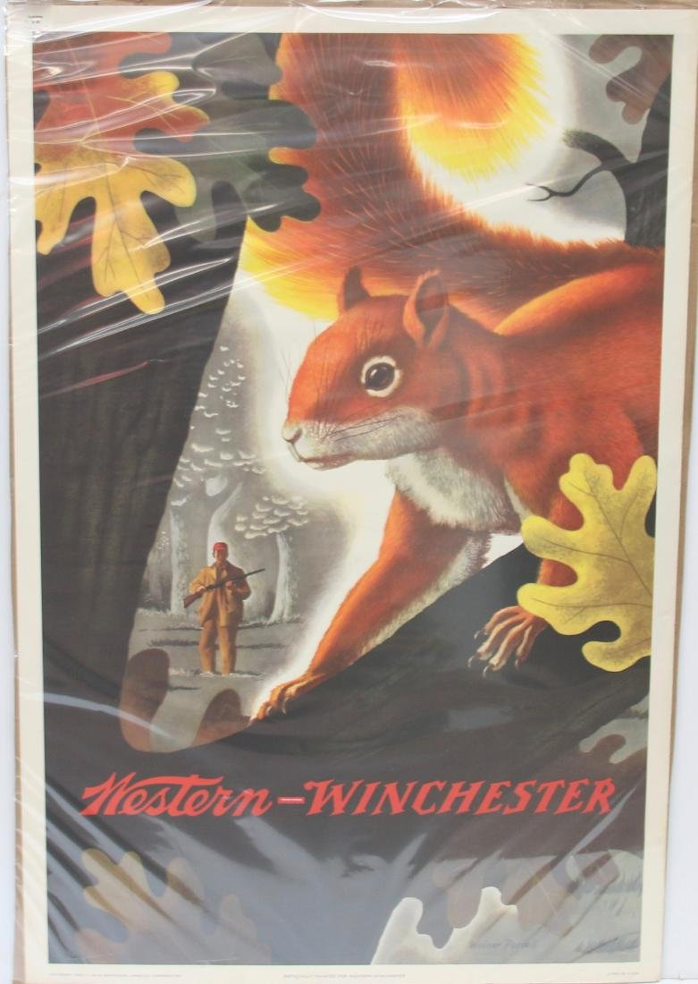 WESTERN WINCHESTER POSTER