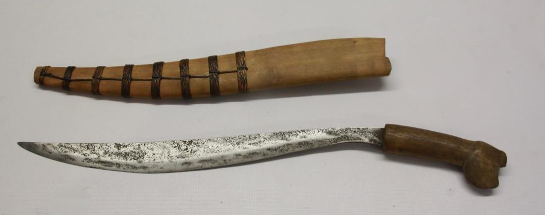 TRIBAL KNIFE WITH SHEATH
