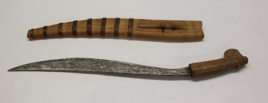 TRIBAL KNIFE WITH SHEATH - 2