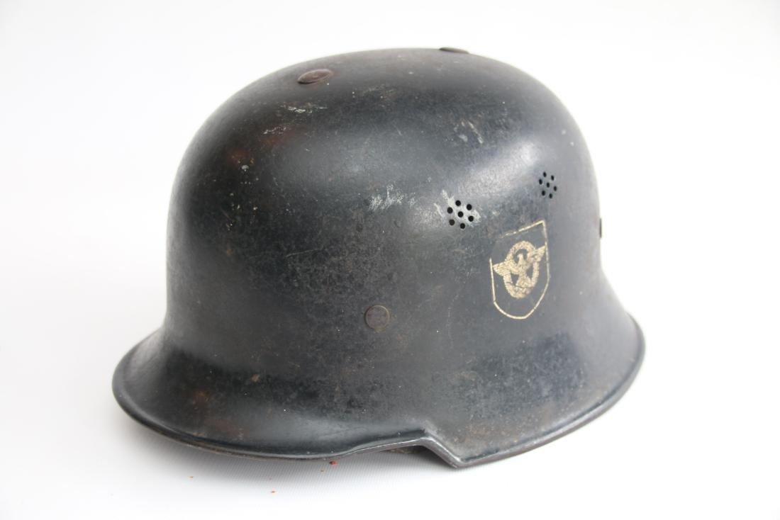 GERMAN WWII POLICE HELMET