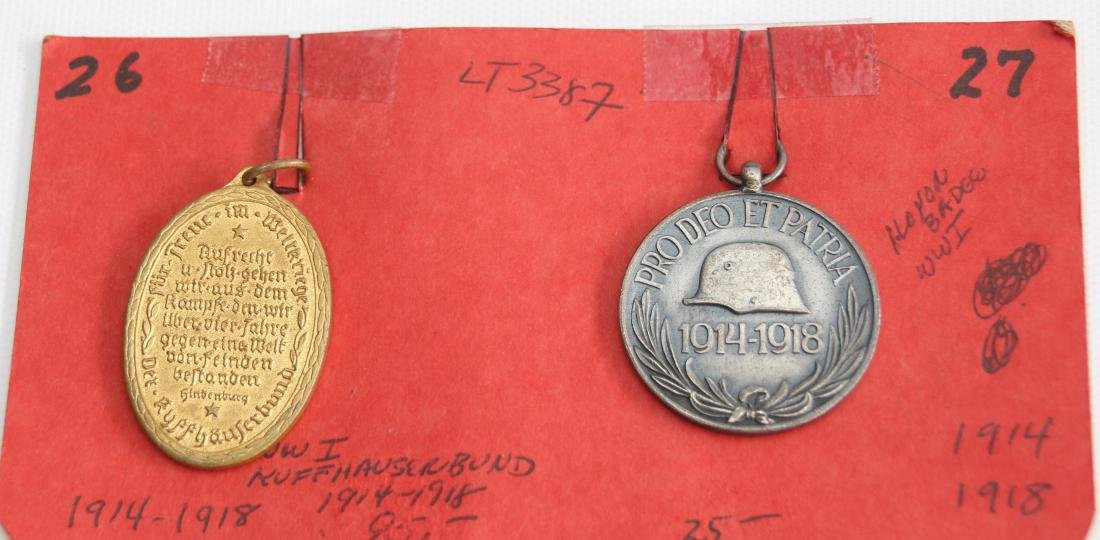 LOT OF GERMAN WWII MEDALS AND PATCHES - 2