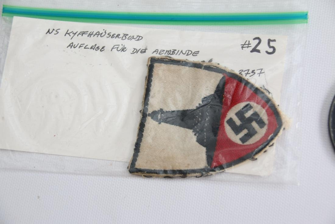 LOT OF GERMAN WWII MEDALS AND PATCHES - 5