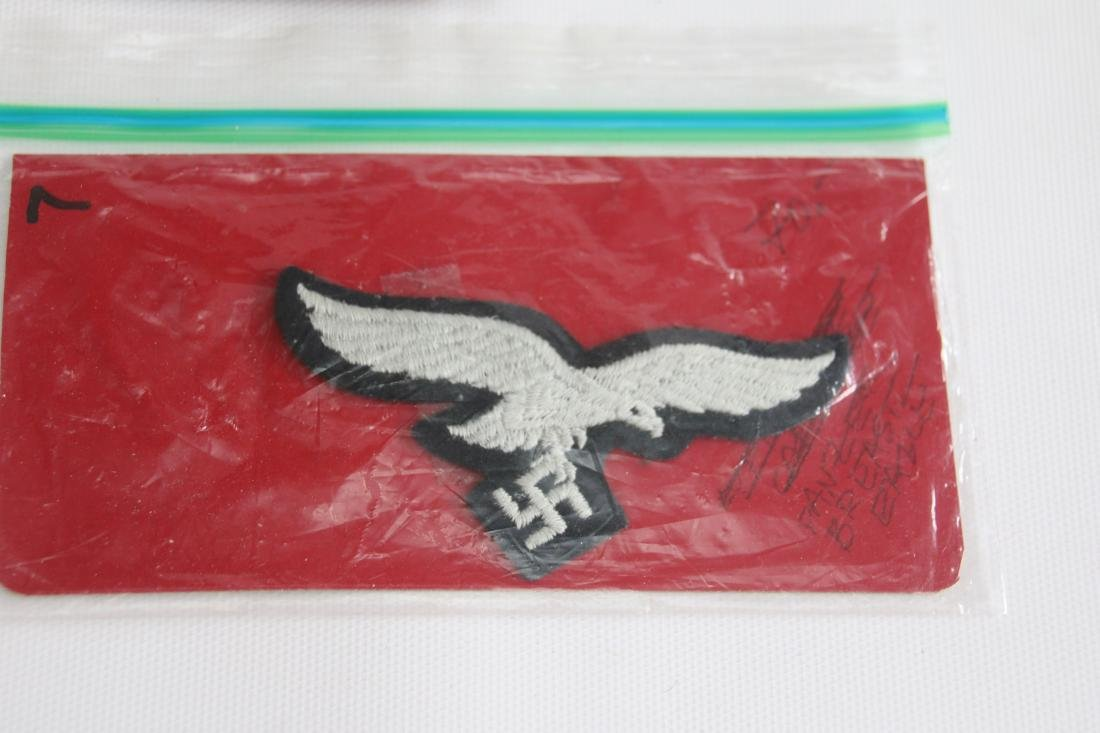 LOT OF GERMAN WWII MEDALS AND PATCHES - 7
