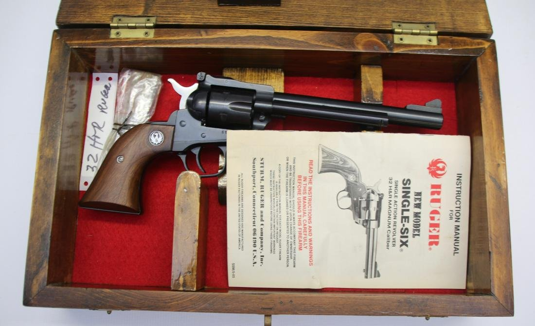 RUGER NEW MODEL SINGLE SIX - 4
