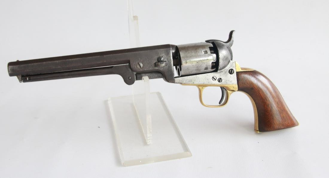 CASED COLT MODEL 1851 NAVY REVOLVER - 3