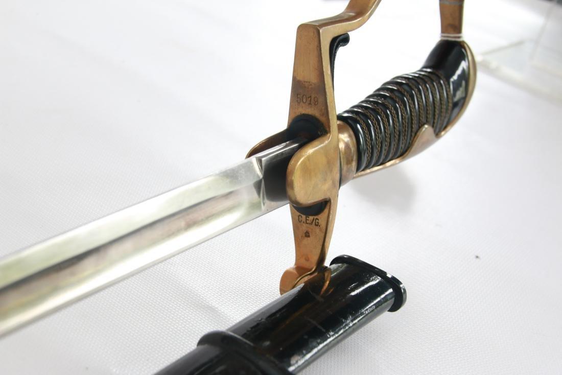 GERMAN WWII EICKHORN SWORD - 2