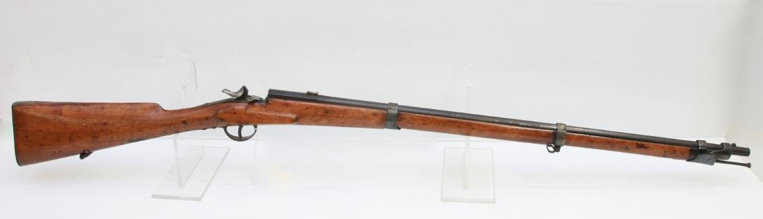 ANTIQUE SINGLE SHOT RIFLE