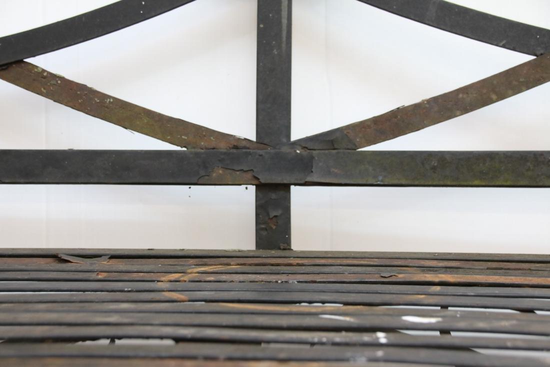 STEEL PARK BENCH - 2