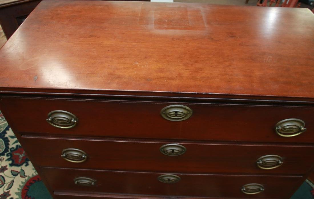 WALNUT CHEST OF DRAWERS - 2