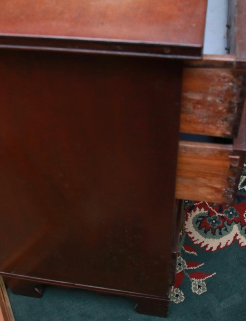 WALNUT CHEST OF DRAWERS - 4