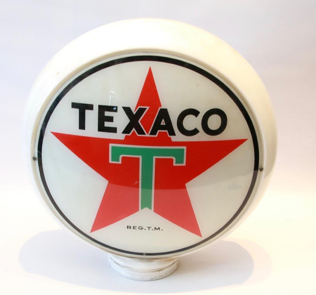 TEXACO GAS PUMP GLOBE
