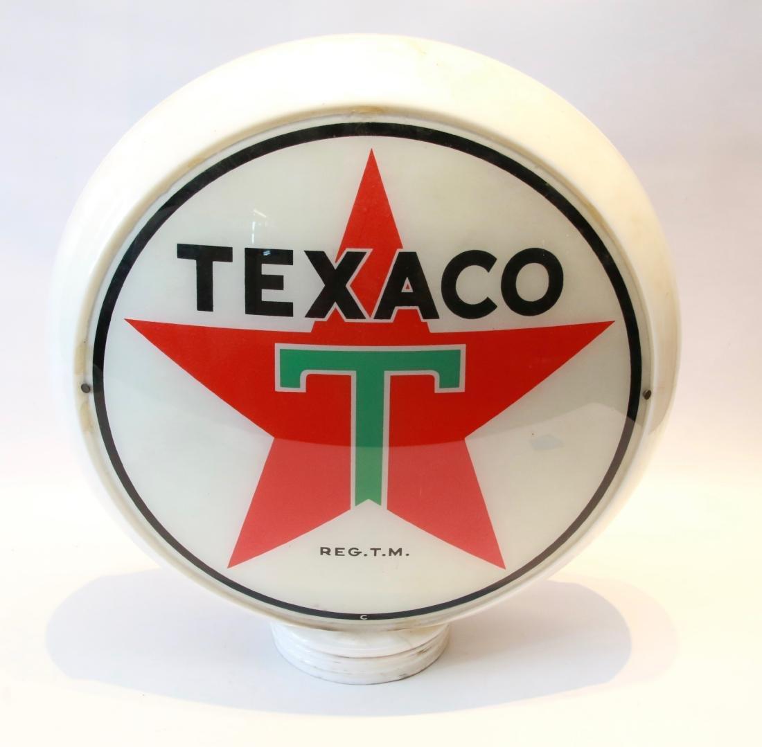 TEXACO GAS PUMP GLOBE - 2