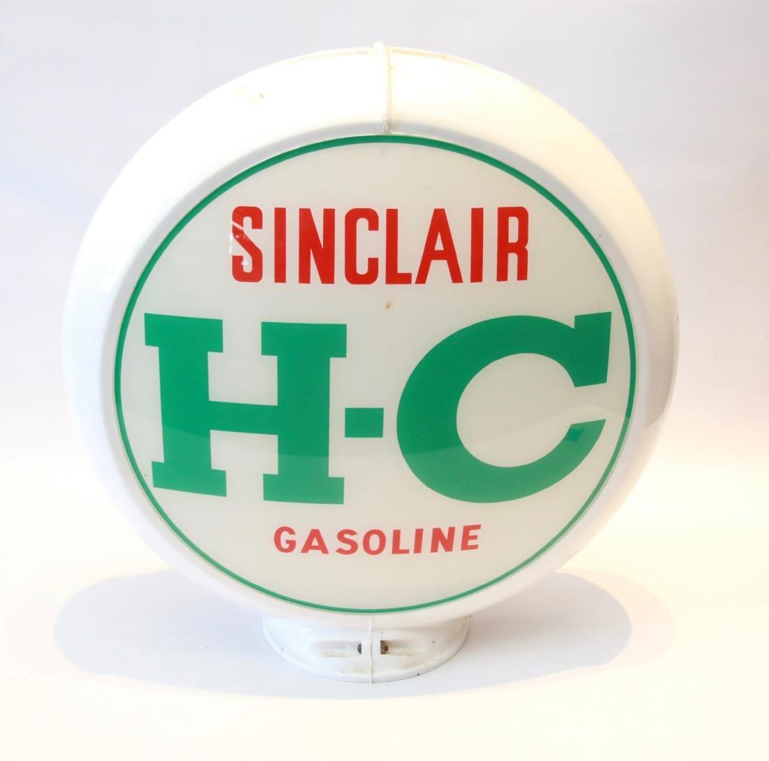 SINCLAIR GAS PUMP GLOBE
