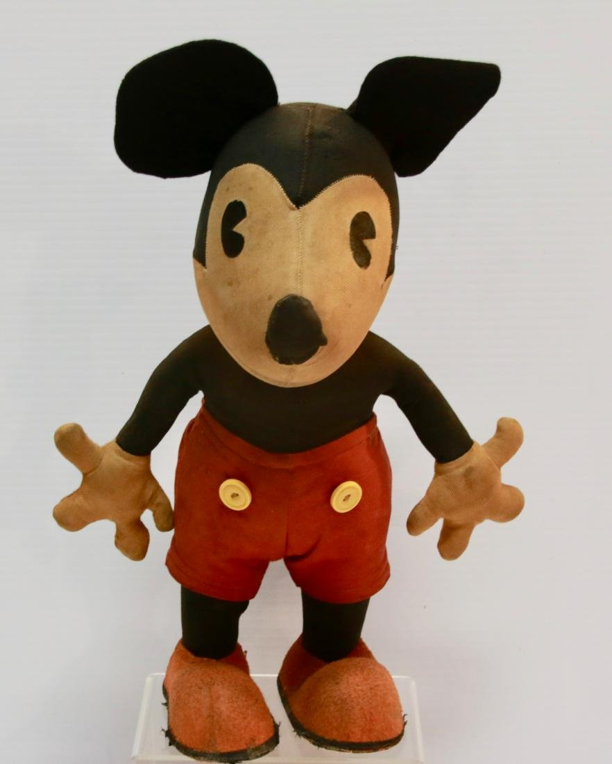 VINTAGE STUFFED MICKEY MOUSE
