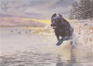 TAYLOR OUGHTON DOG PRINT