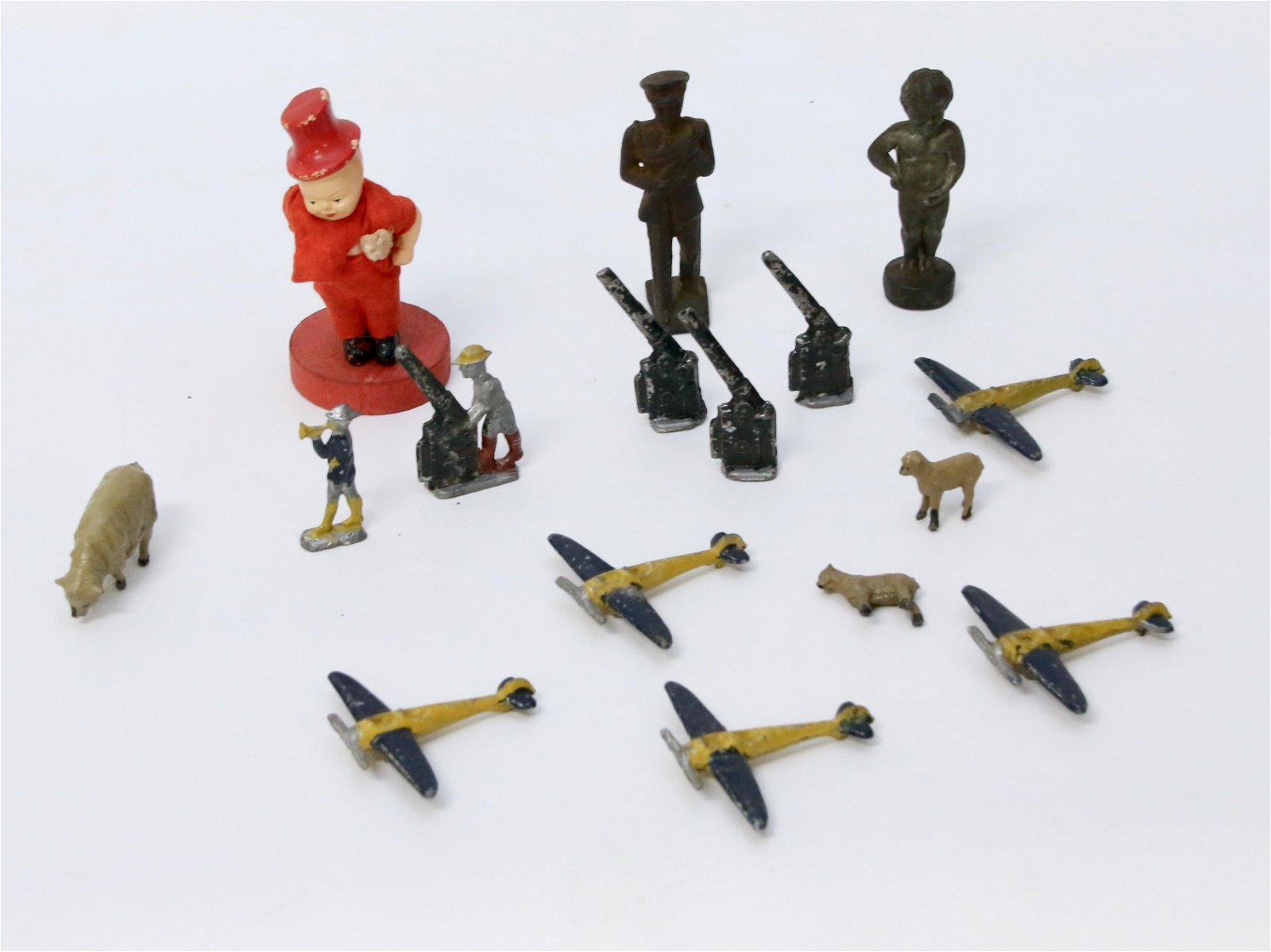 LEAD TOYS AND MISC. LOT