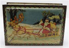 CWS FATHER CHRISTMAS BISCUIT TIN