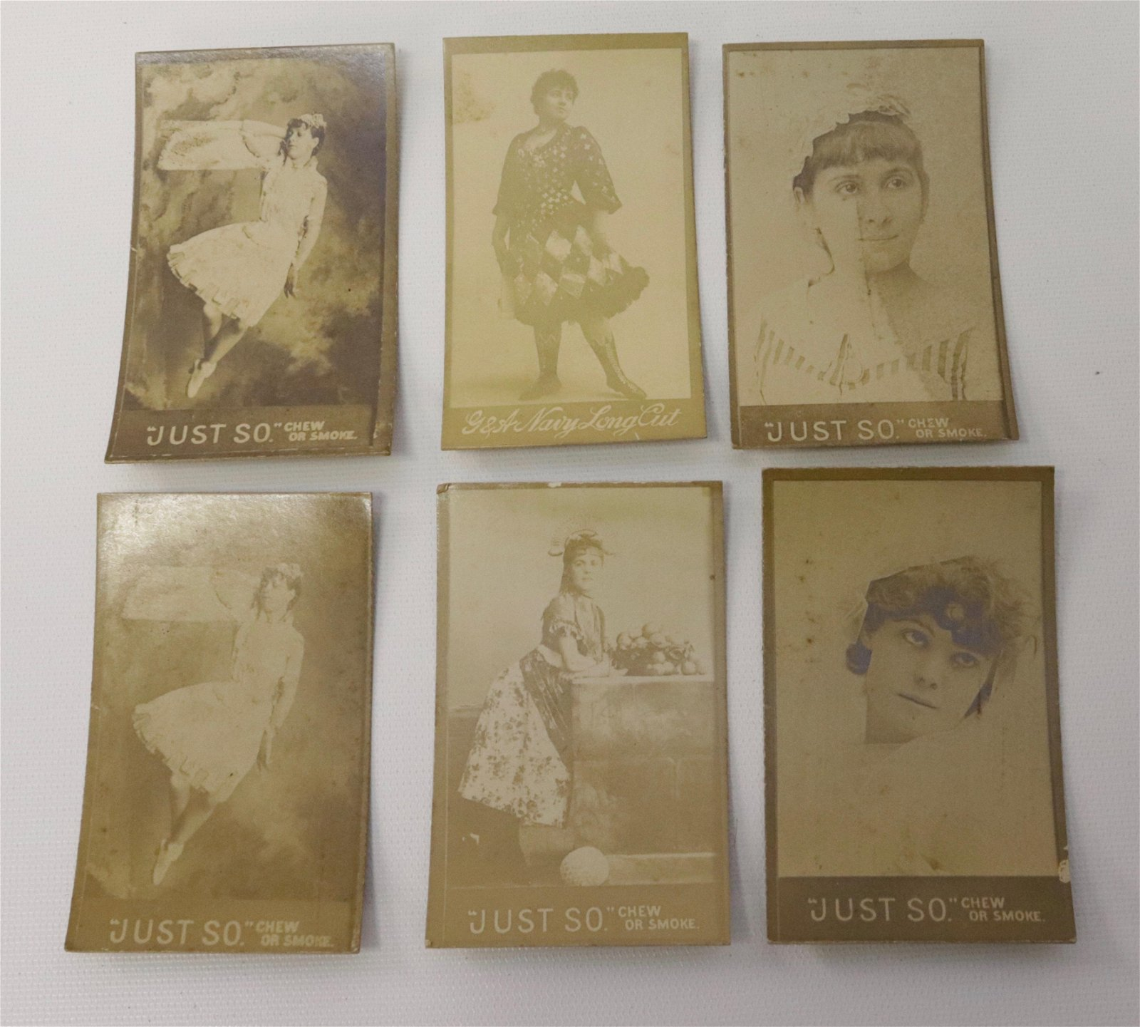 GROUP LOT OF PIN-UP ADVERTISING CARDS
