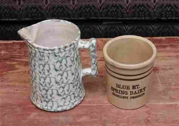 PAIR OF ANTIQUE COUNTRY ITEMS