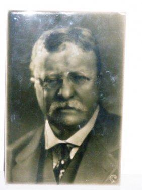 6X9 THEODORE ROOSEVELT 1916 GEO: CARTLIDGE (SCULPTU