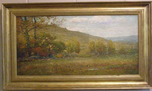 """298: CULLEN YATES LANDSCAPE TITLED """"EARLY AUTUMN"""""""