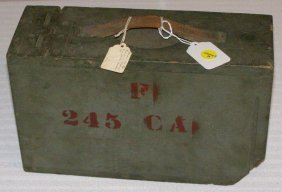 BROWNING MACHINE GUN AMMO BOX CIRCA 1917 .30 CAL